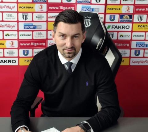 Znamy następcę Piotra Mandrysza. Nowym trenerem Sandecji został Dariusz Dudek!