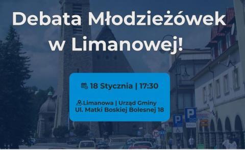 Limanowa: młodzieżówki Korwina i Wiosny będą debatowały