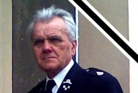 Zmarł Adam Motyka. Przez wiele lat był komendantem grybowskiej straży pożarnej