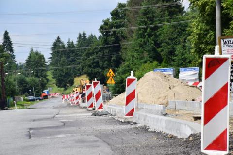 czytaj też:Gruntownie remontują drogę powiatową Powrożnik-Tylicz, są utrudnienia w ruchu