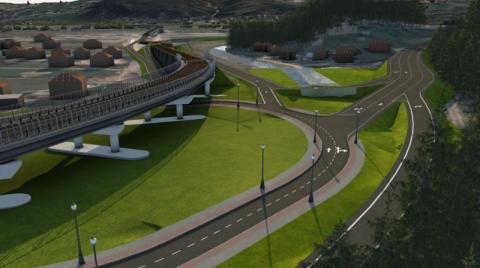 Droga ekspresowa  Nowy Sącz_Brzesko_wizualizacja wariantów przebiegu trasy   (17)