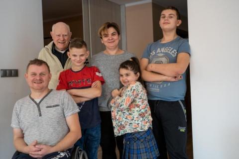 Dzięki wam rodzina Gawlików te święta spędza w nowym domu. Dziękujemy! [WIDEO]