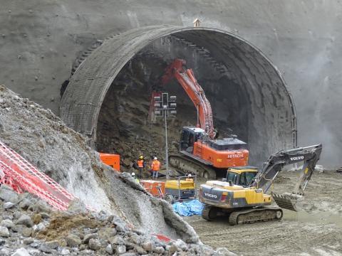 tunel pod Justem... Kiedy?