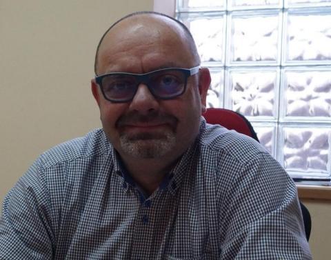 Chirurg ortopeda Jacek Ślipek ze szpitala w Krynicy-Zdroju