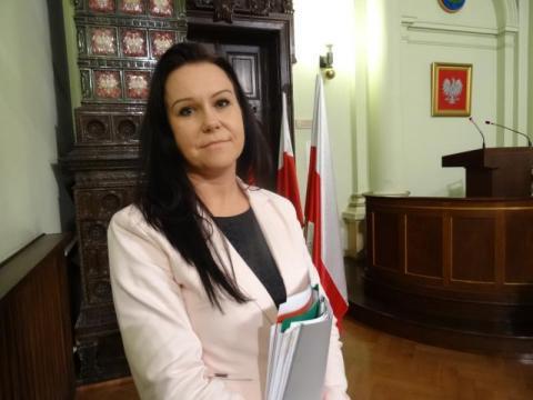Marta Poremba, dyrektor Wydziału Inwestycji UM w Nowym Sączu, fot. IM