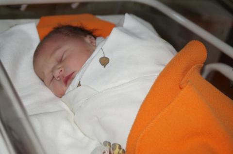 Pierwsze dziecko urodzone w sMedikor w Nowym Sączu, Fot. Iga Michalec
