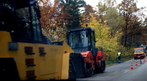remont dróg w Korzennej