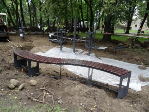 Nowy Sącz: Można będzie ćwiczyć pod zamkiem