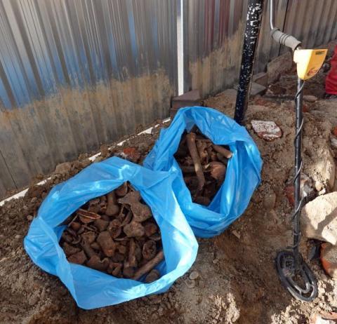 Znalezione szczątki ludzkie zostaną pochowane na cmentarzu [ZDJĘCIA]