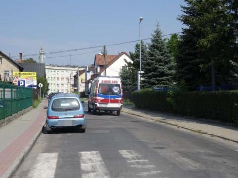 Potącenie dziecka w Binczarowej, fot. Iga Michalec