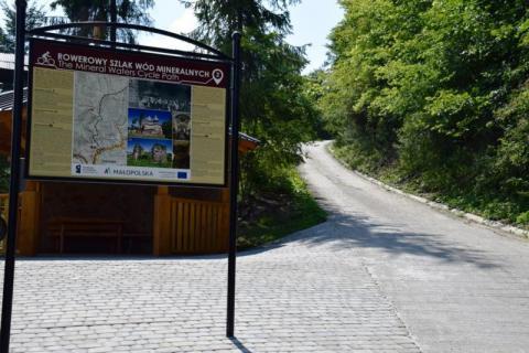 Muszyna: Przez gminę cykliści pomkną szlakiem wód mineralnych