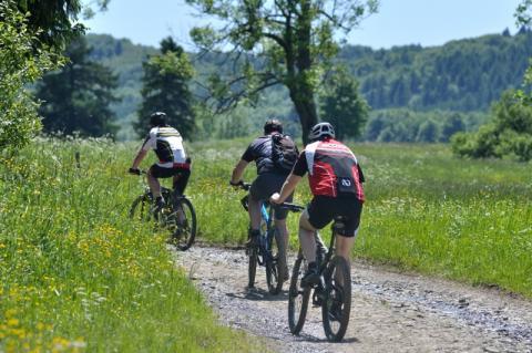 trasy rowerowe, Dolina Popradu