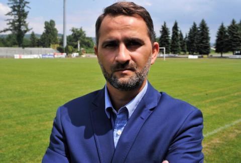 Tomasz Kafarski, nowy trener Sandecji