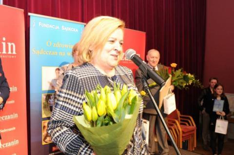 Teresa Śliwa, fot. Sadeczanin.info