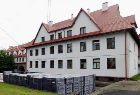 Totalne zaskoczenie. Tego jeszcze w mundurowej szkole w Marcinkowicach nie było!
