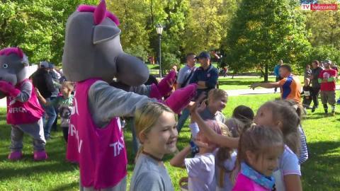 Festiwal Biegowy: Najmłodsi wzięli udział w Biegu Dzieci!