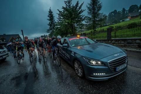 Pogoda wygrała z Tour de Pologne