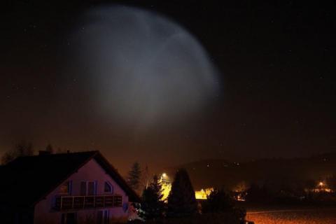 To był dziwny blask. UFO nad Małopolską?