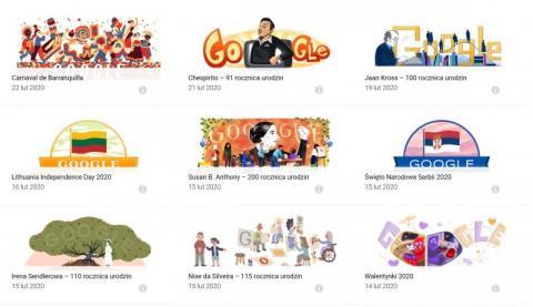Czy sądeczanie korzystają z opcji Google Doodle? Wiecie, co to takiego?