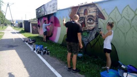 Nowe graffiti w mieście. Kolejna edycja Drip Shop Jam [FOTOGALERIA]