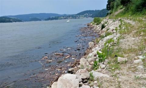 Czytelnik oburzony brzegiem Jeziora Rożnowskiego. Bał się zanurzyć tam wędkę