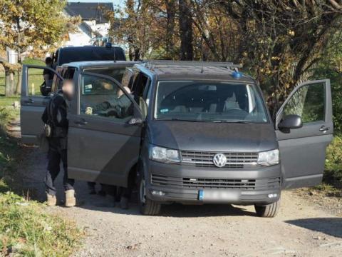 Horror na Limanowskiej. Groził, że zabije policjantów siekierą