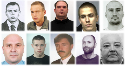 Mordercy, gwałciciele i inni groźni przestępcy. Szuka ich policja [ZDJĘCIA]