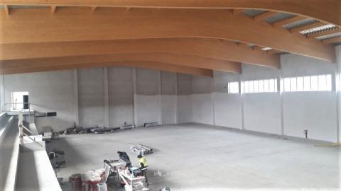 Ostatnia prosta. Niedługo hala sportowa w Korzennej zostanie oddana do użytku