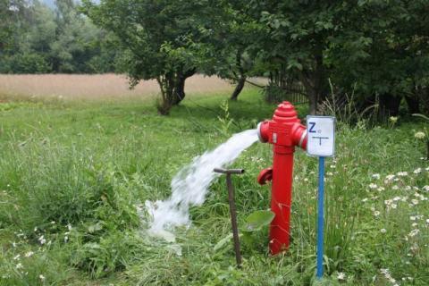 Wyczyścili wodociąg. W Tropiu już mają już czystą wodę