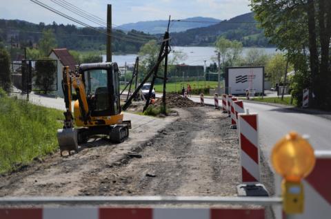 Gródek nad Dunajcem: masz dość stania w korkach? Sprawdź objazd przez Korzenną!