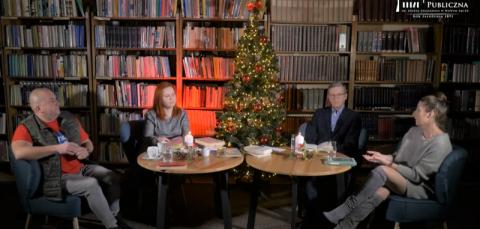 Święta w literaturze. Rozmowa na cztery głosy