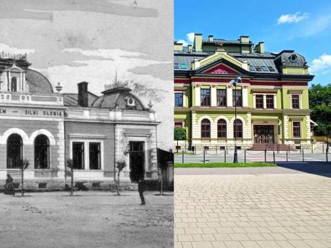 Nowy Sącz dawniej i teraz (2). Zmiany w wyglądzie miasta są bardzo duże