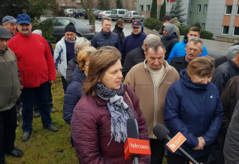 Mieszkańcy Niecwi kontra Mo-Bruk. Trwa protest [WIDEO]