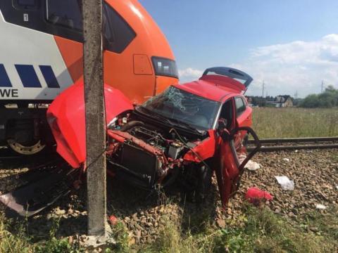 Wypadek na torach kolejowych Szaflarach. Egzaminator usłyszał zarzuty [WIDEO]