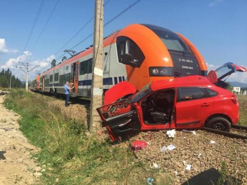 Wypadek na torach w Szaflarach. 18-latka zginęła podczas egzaminu na prawo jazdy