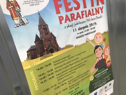 Festyn Parafialny w Biegonicach już o godzinie 14.30