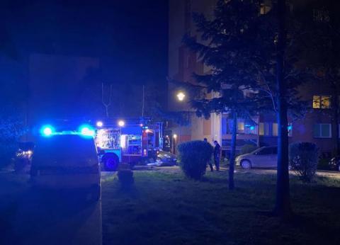 Omal nie doszło do tragedii przy ul. Żółkiewskiego. 17-latka trafiła do szpitala