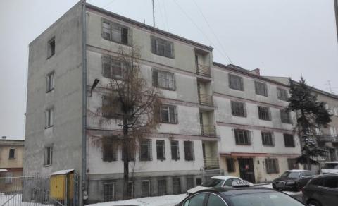 Budynek przy ul. Sienkiewicza po byłej policji, fot. Iga Michalec