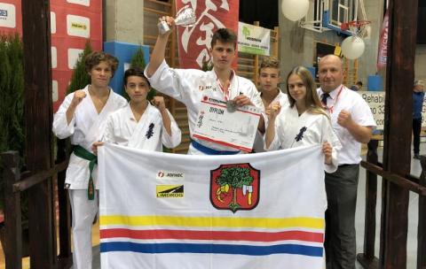 Limanowski karateka Damian Górka wicemistrzem Polski!
