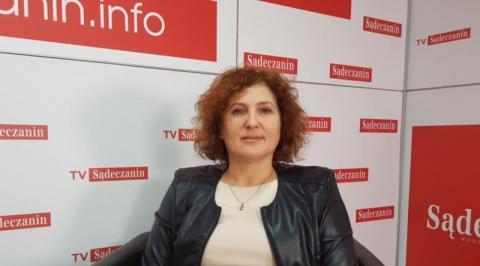 Iwona Mularczyk, przewodnicząca Rady Miasta Nowego Sącza