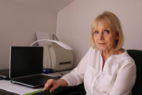 Danuta Wasylkiewicz-Krawczuk. Dzieci chętnie przychodzą do jej gabinetu