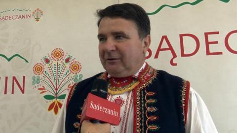 Jan Smoleń, prezes Stowarzyszenia Lachów Sądeckich, fot. Iga Michalec
