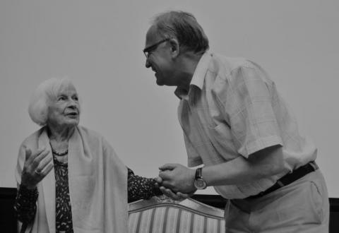 Danuta Szaflarska i Jerzy Leśniak