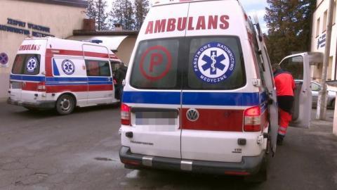Nowy Sącz: lawina wezwań zespołów ratowniczych. Karetki wyjeżdżały 570 razy