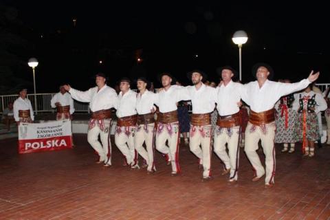 Nasi śpiewali nad Adriatykiem i zupełnie zaskoczyli Chorwatów