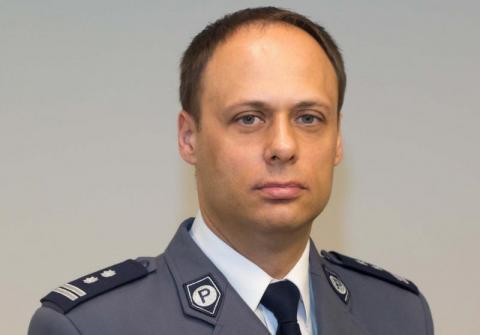 Sądecka policja ma nowego komendanta. Został nim Krzysztof Dymura