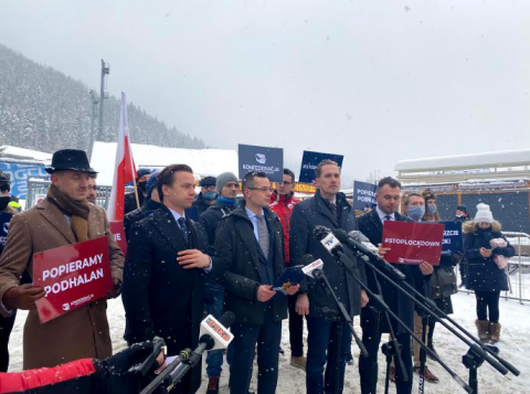 """""""Bunt nie jest niezgodny z prawem"""" - grzmieli polotycy Konfederacji w Zakopanem"""