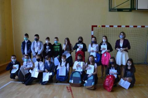Uczniowie w Koniuszowej zakończyli rok szkolny