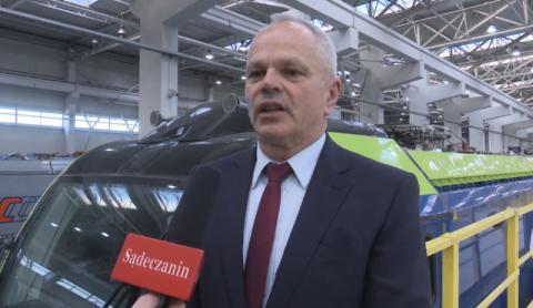 Firma Newag produkuje lokomotywy w Europie