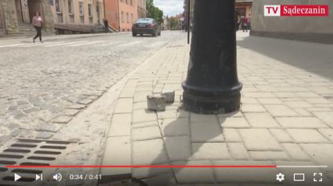 Obrazki z Nowego Sącza: Kości zostały rzucone, czyli ul. Kazimierza Wielkiego